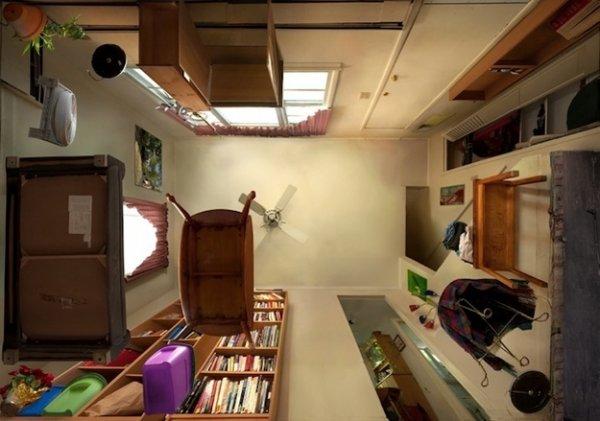 Если убрать потолок