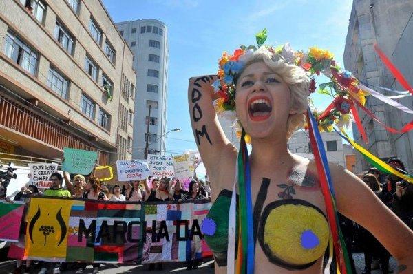 Открылся бразильский филиал FEMEN