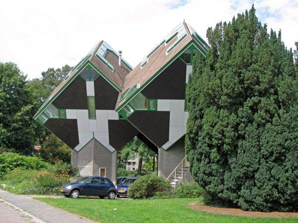 Кубические дома Пита Блома