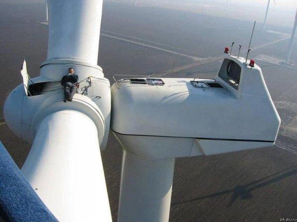 Средний размер ветряков