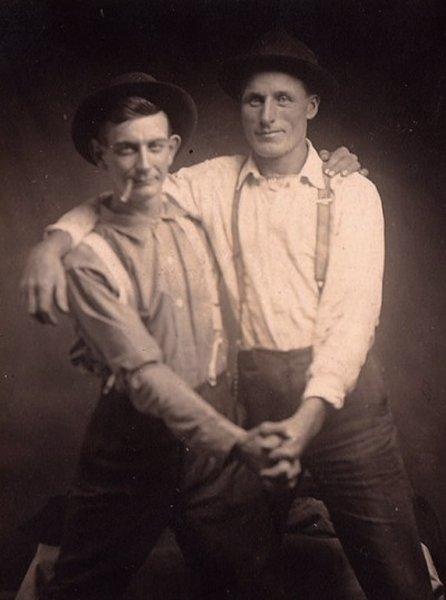 7 винтажных фото, на которых не геи