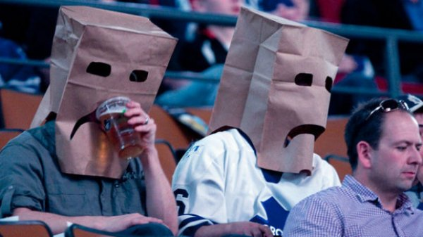Креативные болельщики NHL