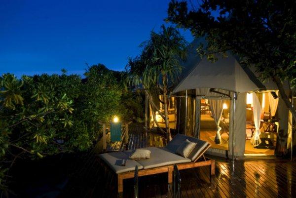 Частный курорт на Мальдивах