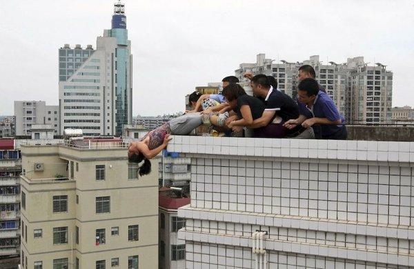 Зря старались спасая китаянку