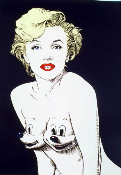Рисунки Рона Инглиша