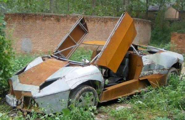 Китайцы начали подделывать Lamborghini Reventon