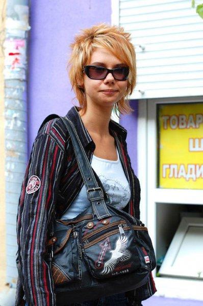 Уличная мода в Одессе