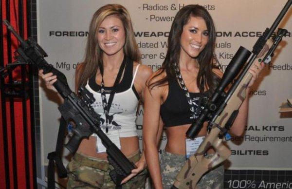 Девочки и пушки