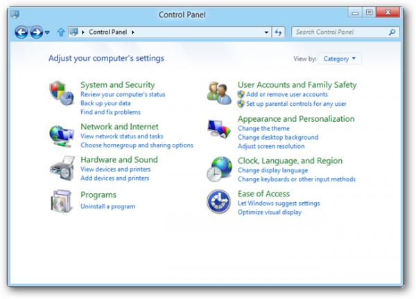 Windows 8 сообщает Microsoft о любых устанавливаемых программах
