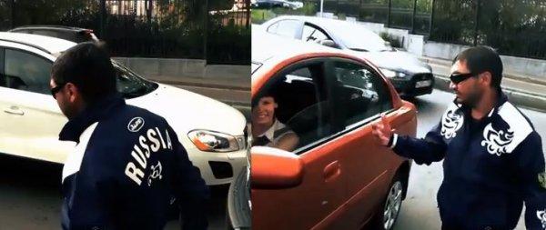 Активисты «СтопХам» заступаются за водителей на бесплатной парковке (видео)