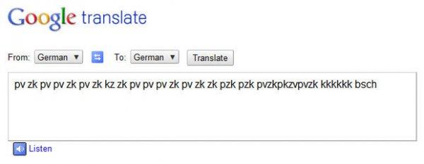Переводчик Google может исполнить для вас битбокс