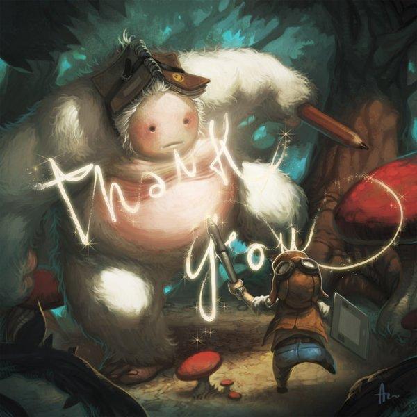 Южно-корейский художник Andrew Hou (Псевдоним nJoo)