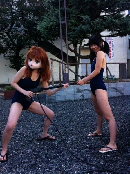 Анна Амемия - модель из Японии