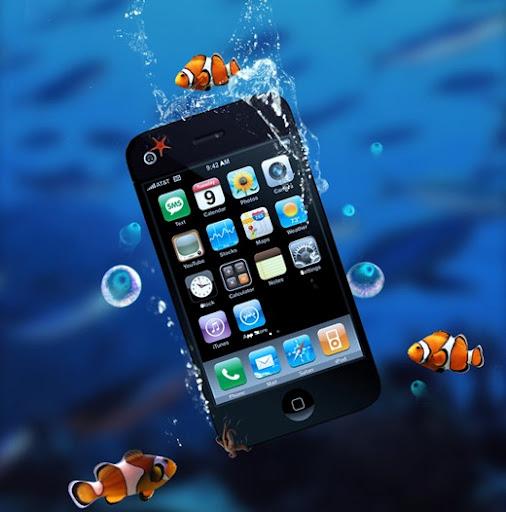 Как спасти «искупавшийся» мобильник