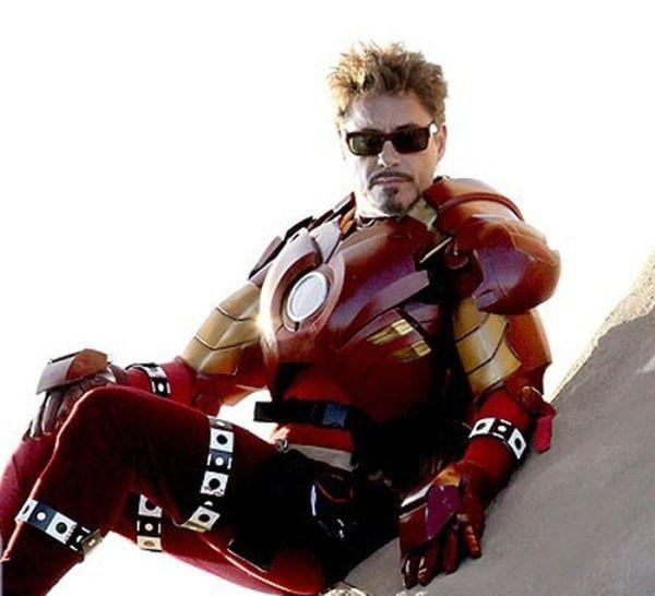 Железный Человек 2 - фото со съемок