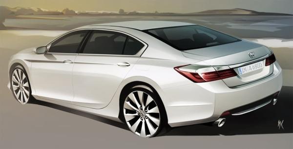 Honda показала рисунки нового Accord