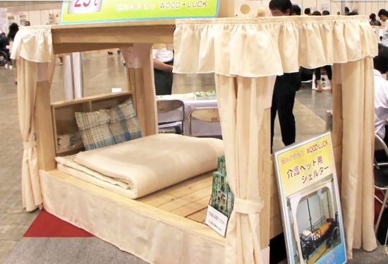 Японская кровать спасет от землетрясения