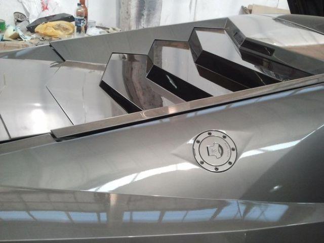 Машина своими руками из металла