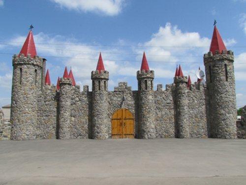 Украинский самодельный замок
