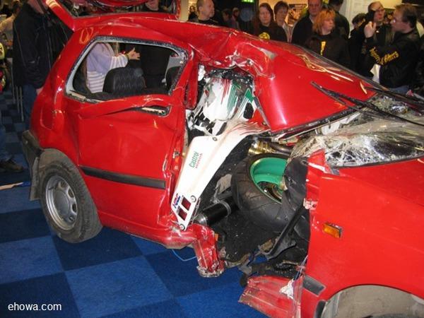 Последствия аварии с участием мотоциклиста