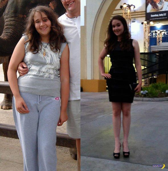 До и после - как они похудели