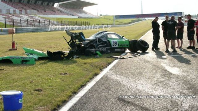Разбитые дорогие машины