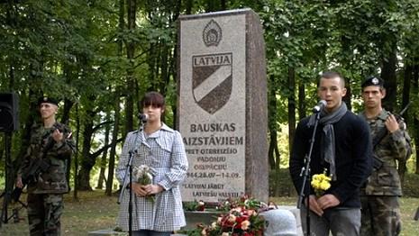 Беларусь возмущена появлением в Латвии памятника легиону СС