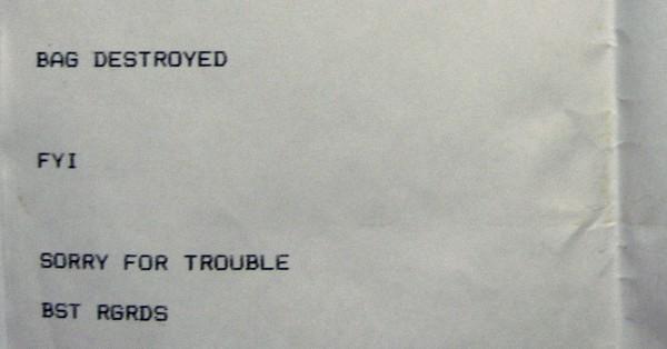 Airberlin - воровство или просто наплевательское отношение?