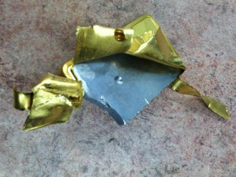 На Манхэттене обнаружили поддельный золотой слиток из вольфрама