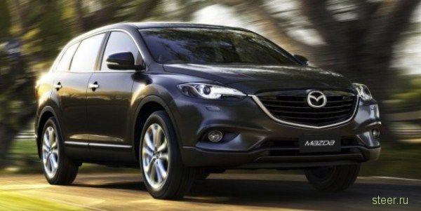 Первые снимки новой Mazda CX-9