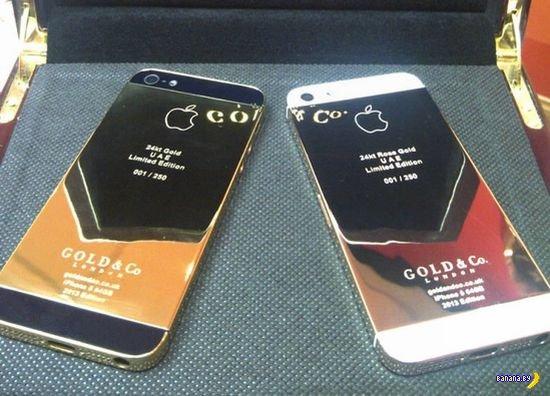 Дождались! Золотой iPhone 5!