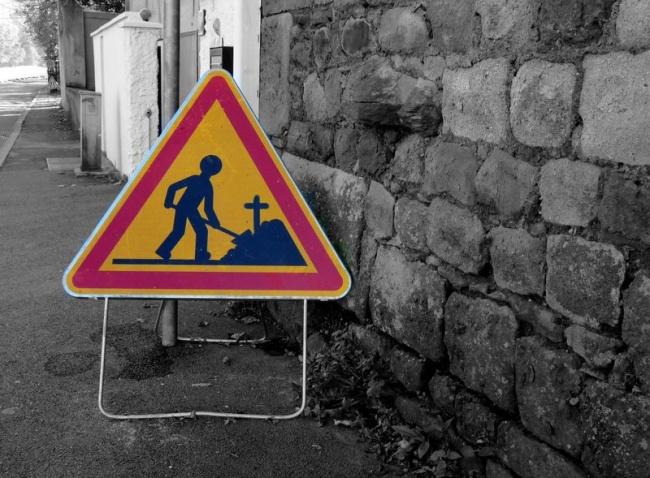 Ироничный стрит-арт от OaKoAk