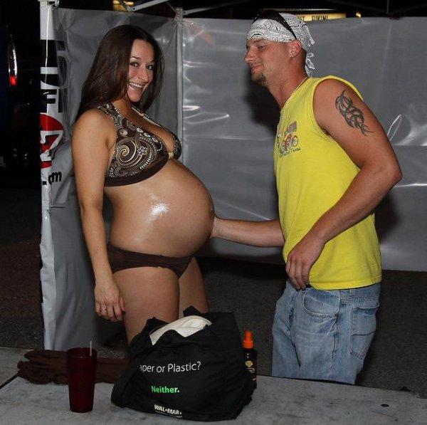 Мисс беременный живот