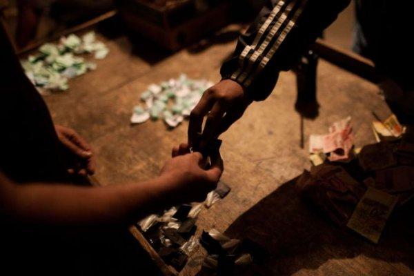 Наркоманские трущобы в Рио