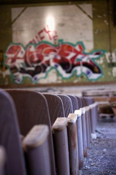 Заброшенная школа для девочек