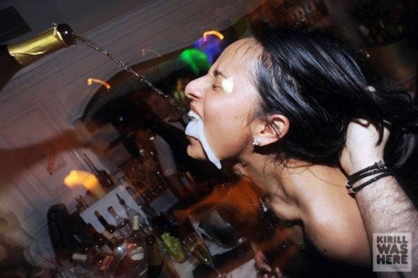 Клубы, девушки, шампанское
