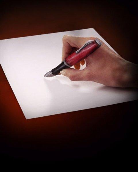 Рисунки на руках