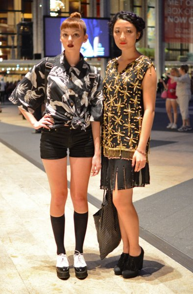 Модники и модницы с NY Fashion Week