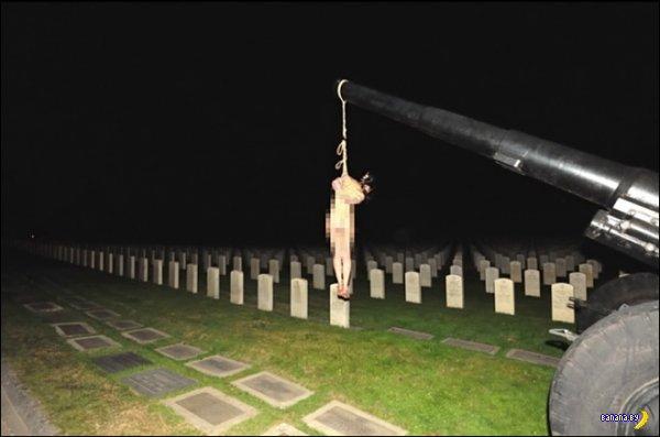 В США осквернили военное мемориальное кладбище