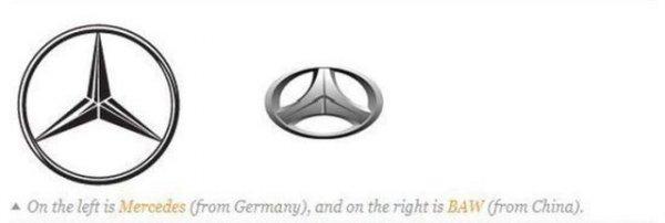 Как воруют логотипы производителей авто