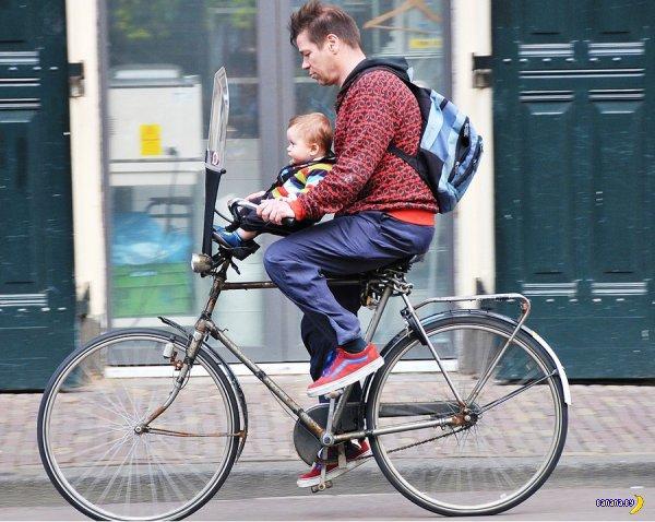 Велосипедная столица Европы (фото и видео)