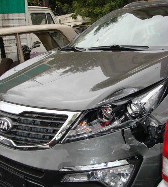 Пьяный сотрудник автомойки на чужом Kia совершил три ДТП и стал скрываться