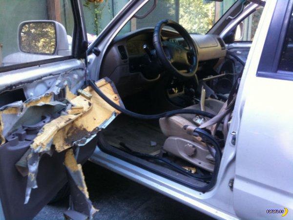 Кто и зачем раскурочил Toyota 4Runner?