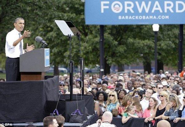 Охранник Обамы отлил на мероприятии