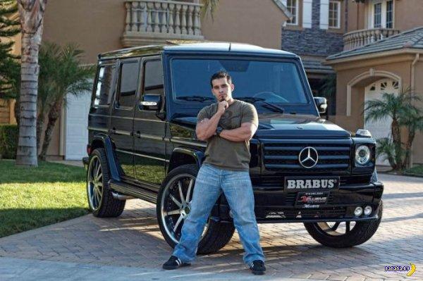 Автопарк Three 6 Mafia