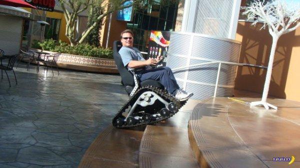 Инвалиды и бездорожье