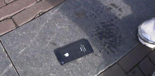 Лихой пранк с iPhone 5