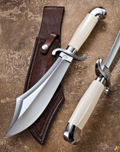 Шикарные ножи работы Buster Warenski