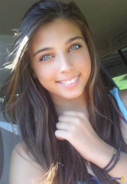 Красивые девушки с красивыми глазами