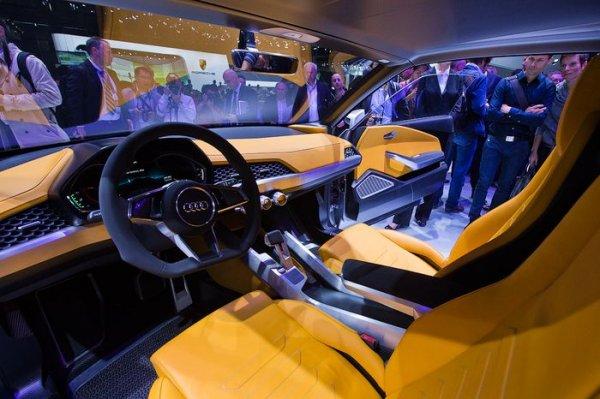 Автосалон в Париже. Открытие